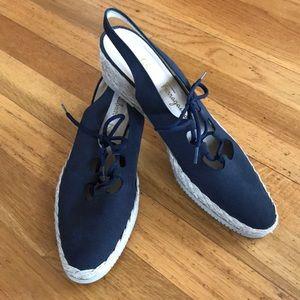 Salvatore Ferragamo espadrilles  8 A shoes NWOT